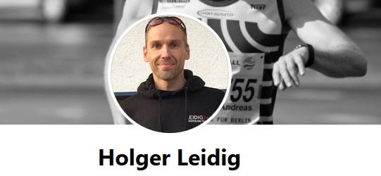 Facebook Seite von Holger Leidig